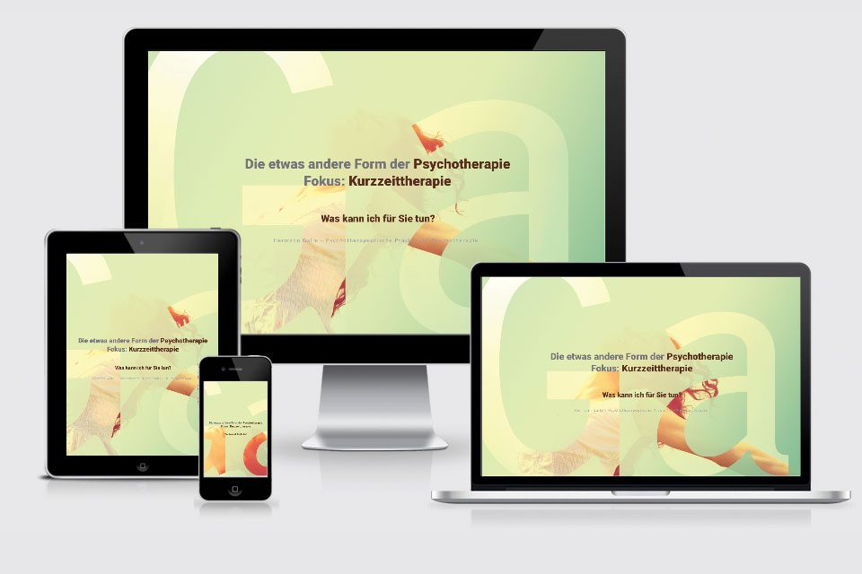 Website Psychotherapie Hermann Galle® | Neue Website ist online!